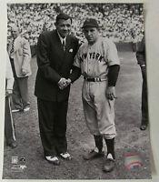 Babe Ruth Yogi Berra New York Yankees Licensed 8x10 Photo *RARE PHOTO*