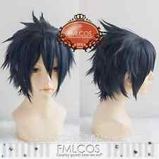Final Fantasy XV 15 Noctis Lucis Caelum Costume Cosplay Wig (Need Styled) +Cap