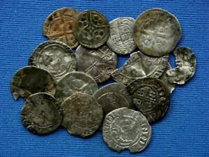 Collection of 16 hammered English coins