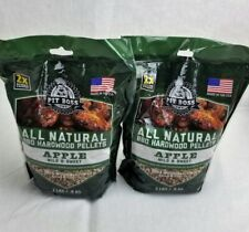 Apple Wood Pellets 4 pounds Pit Boss Two 2lb Bags Made in the USA