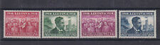 Lithuania 1939 20 Years Republic Anniversary 4v MH Stamps Set
