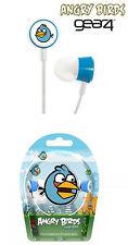 Angry Birds Gear 4 in-ear-Headphones estéreo auriculares tweeters F. iPod/iPhone nuevo