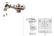 Charnière 26mm amortisseur porte placards