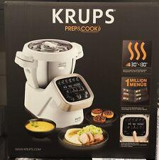 Krups HP5031 Prep & Cook Küchenmaschine Kochfunktion inklusive Dampfgaraufsatz!!