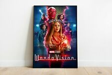 WandaVision Poster Wall Art Maxi Prints New Shows Marvel Scarlett Witch - 1898