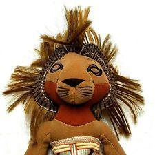 "Disney Lion King The Broadway Musical Simba Plush Beanie Toy Doll 12"" Nwt"