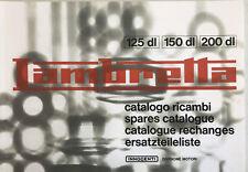 Lambretta Parts Book DL/GP 125/150/200cc