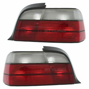 BMW 3 Series E36 1992-2000 Cabrio 2 Door Rear Tail Light Lamp Pair Left & Right
