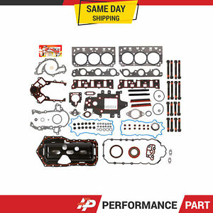 Full Gasket Set Head Bolts for 96-03 Buick Pontiac Oldsmobile Supercharged 3.8