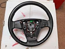 04 05 06 07 08 09 Volvo S40 C30 V50 C70 Steering Wheel Black Leather OEM