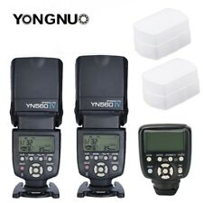 Yongnuo YN560TX II LCD Wireless Flash Controller 2X YN560 IV Flash kit For Nikon