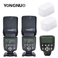 Yongnuo YN560TX II LCD Wireless Flash Controller 2X YN560 IV Flash kit For Nikon