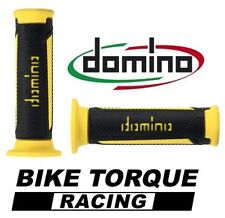Suzuki RG50  Black / Yellow Domino Turismo Handle Bar Grips