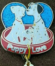 Disney Pin Trading Love is Magical 101 Dalmatians Puppy Love Le250 Pin