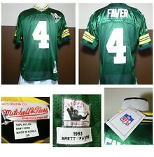 79564d11502 NWT Mitchell & Ness Throwback Brett Farve MISTAKE JERSEY GREEN BAY FAVER #4  50