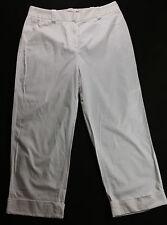 WOMEN'S SIZE 10, WHITE, WIDE LEG, STRETCH PANTS BY ANNE KLEIN!