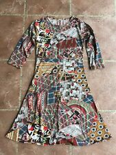Women's dress size large - Colourful Lightweight Patterned - New