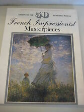 French Impressionist Masterpieces 50 Large Poster Size Suitable For Framing