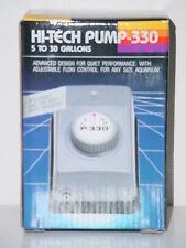 AQUARIUM PUMP HI-TECH 330 5 to 30 Gallons~ NIB