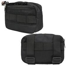 Outdoor Molle Nylon Accessory Pouch Tactical Combat Portable EDC Utility Bag BK
