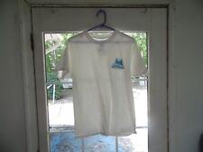 2-Hanes white men's size M t-shirts