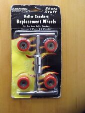 Roller Sneakers Replacement Wheels & Wrenches New by Skate Stuff Pro Nova Rep