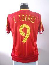 Fernando Torres #9 España Hogar Camiseta De Fútbol Jersey 2006-2008 (M)