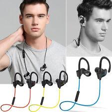 Wireless Bluetoot Headset Sports Stereo Headphone Earphone For iPhone 7 6s plus