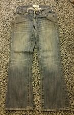 """Maurices Low Rise Ashlyn Boot Women's Jeans Size 3/4 S - 30"""" Waist X 29"""" Inseam"""