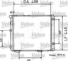 VALEO Wasserkühler Motorkühlung für MERCEDES 190 W201 Stufenheck 1984-1993