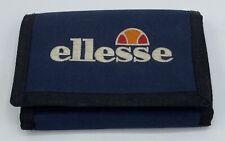 Ellesse Navy Blue Trifold Zip Pocket Wallet