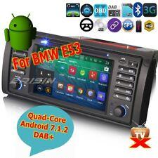 """BMW E53 Android 7.1 5er E39 X5 M5 Car Stereo DAB+Radio DVD DVR Wifi BT 3G 7""""3453"""