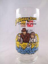 Indiana Jones Temple of Doom Drinking Glass Raft 7-UP & Brown's Chicken 1984