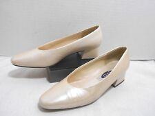 Women's SRO Pearl Ivory Sz 6.5M High Heel Pumps Shoes Dress Formal Wedding