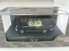 FIAT 124 SPIDER - COLORE NERO - SCALA 1/43 - STARLINE