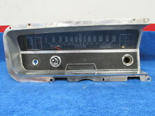 1965 BUICK SKYLARK GS SPECIAL SPEEDOMETER / DASH BEZEL WITH WIPER SWITCH  1217