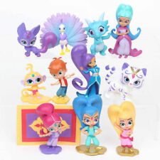 Shimmer And Shine Action Figure Toys Leah Zac Kaz Tala Nahal Cake Topper Gifts
