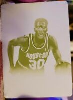 KENNY SMITH 2012-13 National Treasures Champions PRINTING PLATE 1/1 of 1 Rockets