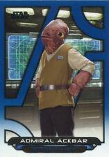 Star Wars Galactic Files 2018 Blue Base Card TFA-56 Admiral Ackbar