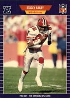 1989 Pro Set Football Cards 1-220 +Rookies - You Pick - Buy 10+ cards FREE SHIP
