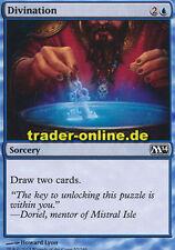 4x Divination (adivinación) Magic 2014 m14 Magic