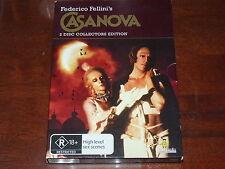 Fellini's Casanova - DVD 2 Disc Set R4 Cult Arthouse Foreign OOP