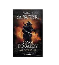CZAS POGARDY WIEDZMIN THE WITCHER Andrzej Sapkowski tom 2 POLISH BOOK *JBook