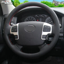 Steering Wheel Cover for Toyota Land Cruiser 2008-2015 Tundra Sequoia 2008-2011