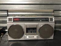 PANASONIC RX-4920 Cassette Player AM/FM Radio Boombox TESTED Vintage 1980s