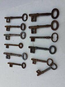 Vintage old Antique Wooden Rim Lock Keys Rare 11 Available SOLD SINGULAR 1 (one)