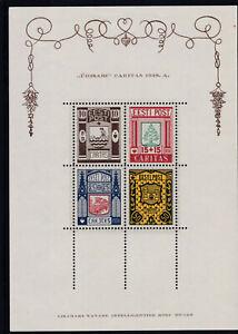 Estland 1938 Block 1 Postfrisch ** MNH