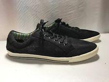 MADDEN Men's Size 13 Black Canvas Mesh Lace Sneaker Shoe