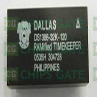 4PCS TIMEKEEPER IC DALLAS/MAXIM DIP-32 DS1386-32K-120
