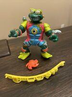1990 Mike, The Sewer Surfer Ninja Turtles TMNT Vintage Figure + Accessories